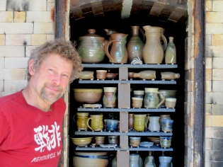 Peter and his salt kiln