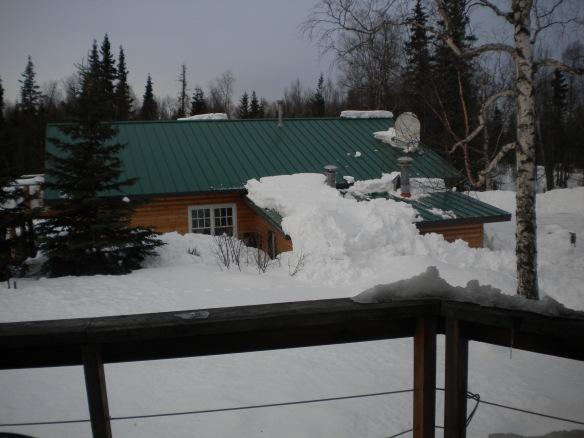 winter shot of studio