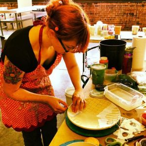 host plate decorating