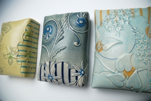 KK Tiles Pear, Blue and Frost