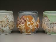 teabowls 2008, porcelain