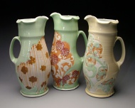 pitchers 2009, porcelain