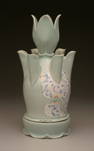 tulip vase 2008, porcelain
