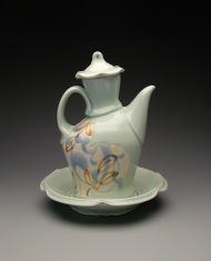 oil cruet 2009, porcelain