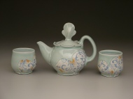 tea set 2008, porcelain