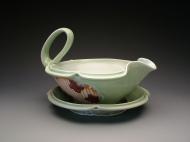 sauce boat 2009, porcelain