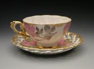 grandma's tea cup and saucer