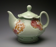 teapot 2009, porcelain