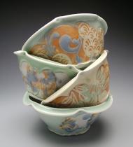 bowls 2009, porcelain