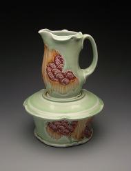 stacking sugar and creamer 2009, porcelain